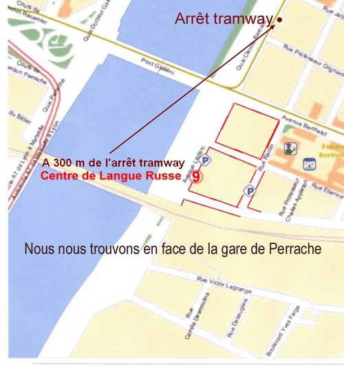 plan centre langue russe lyon